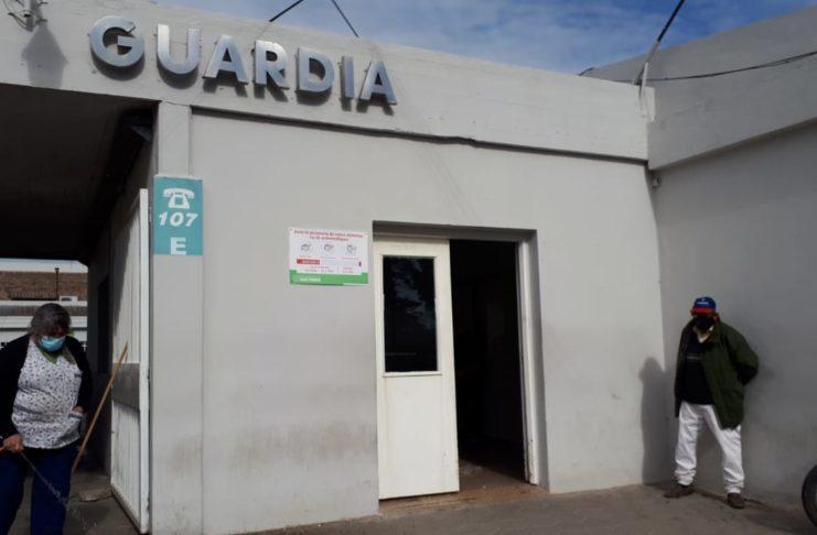 El episodio ocurrió en la Guardia apenas fue detenido Albacete.
