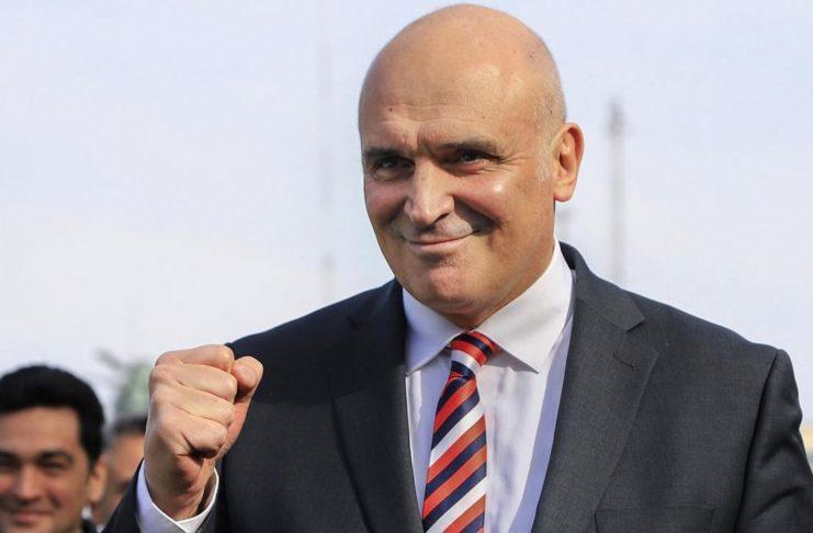 El candidato José Luís Espert por el Frente Avanza Libertad