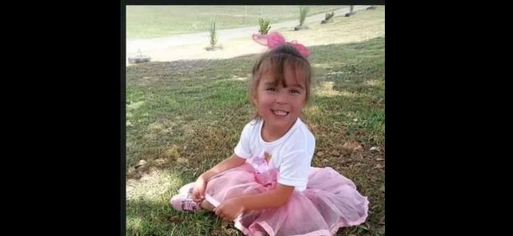 Ámbar Catalina Camarasa tenía 5 años.