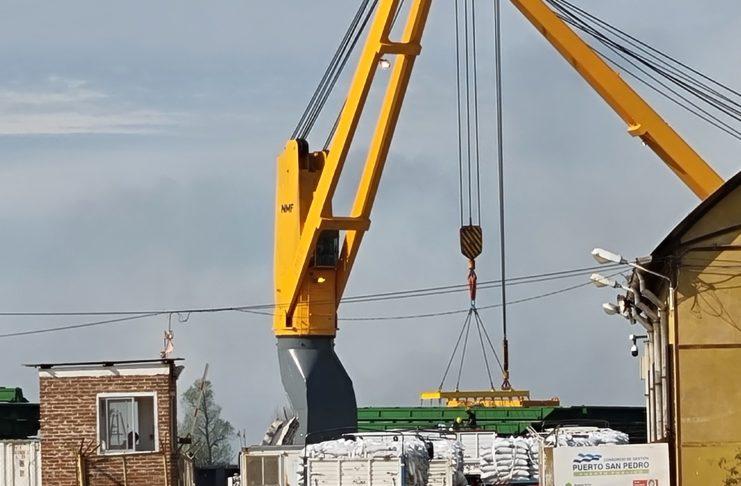La carga comenzará cuando el buque Seavenus arribe al muelle elevador.