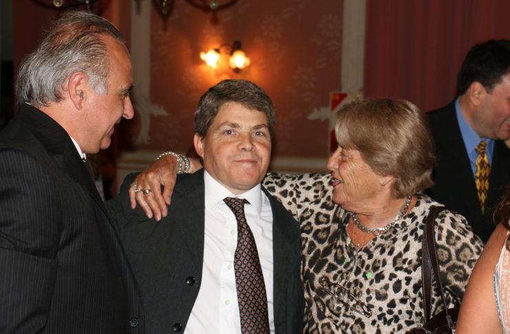 Fernando Cajide, el día que asumió su segundo mandato.