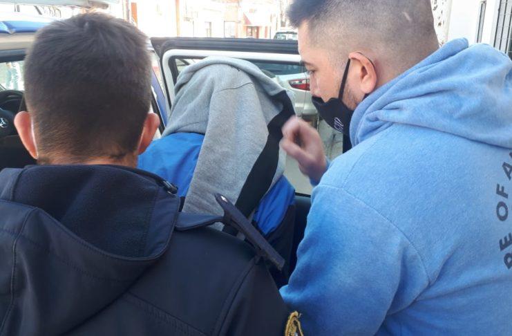 Albacete fue trasladado a la Comisaría primera de San Nicolás, donde aguarda por la preventiva.