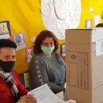 Los sampedrinos votaron este domingo para elegir a los candidatos.
