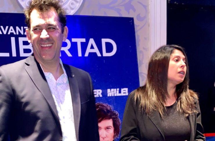 Martín Rivas y Daiana Franco encabezan la lista de Avanza Libertad.