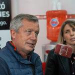 Monzó respaldó a Basso y destacó la necesidad de diálogo político en el país.