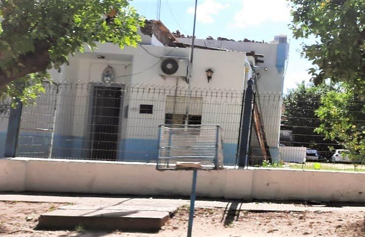 El aprehendido fue trasladado al Destacamento policial de Río Tala.
