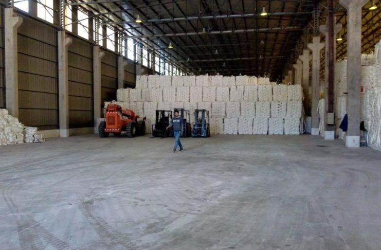 La mercadería está casi toda en San Pedro y será embarcada a fin de mes.