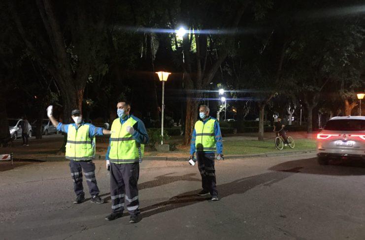 El personal de la Agencia Nacional de Seguridad Vial coordinó las tareas.