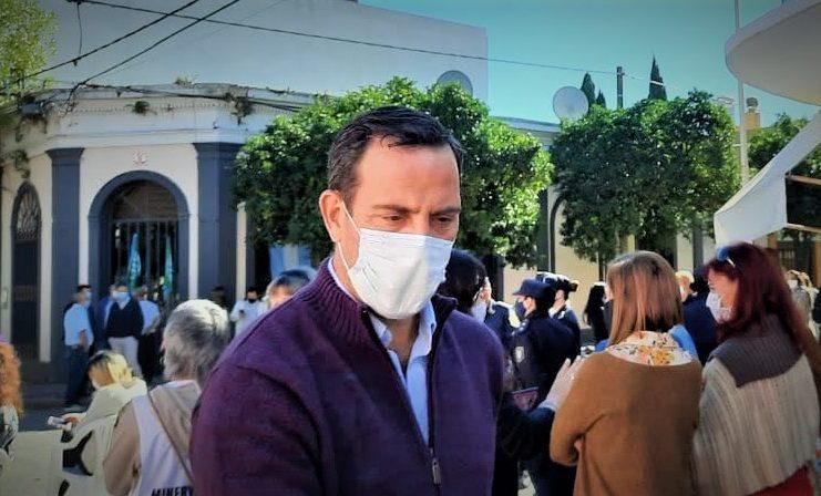 Silvio Corti renunció al gabinete de Salazar.