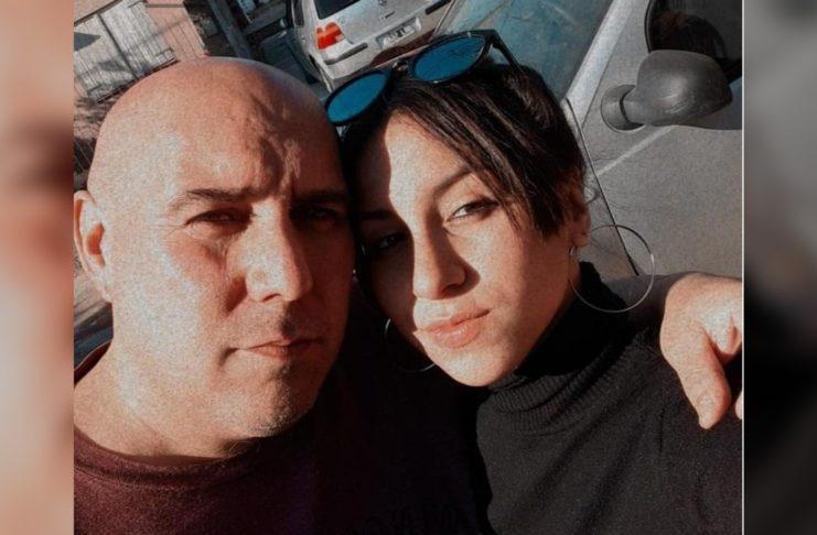 Luna y su padre, Mauricio Almada, quien falleció de coronavirus