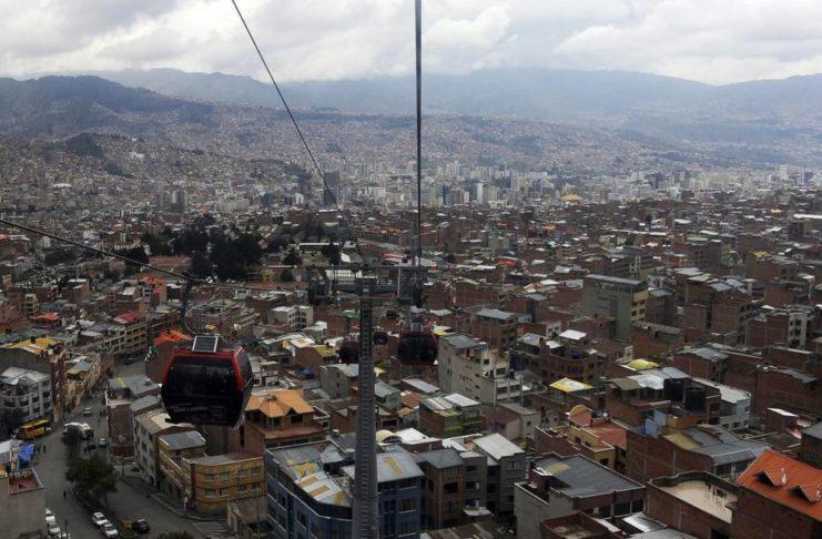 La joven sampedrina estaba en La Paz desde hace tiempo.