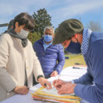 En julio pasado hubo firma de escrituras, también en Los Andes, con funcionarios de Provincia.