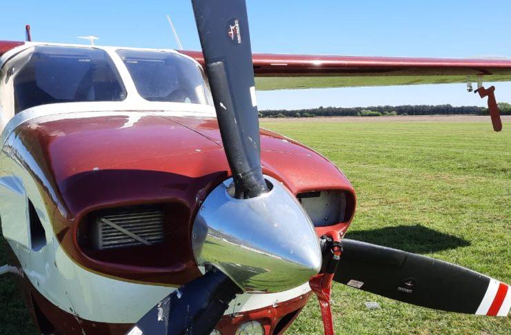 El avión secuestrado en el aeródromo local sería de uno de los integrantes de la familia Marcogiuseppe.