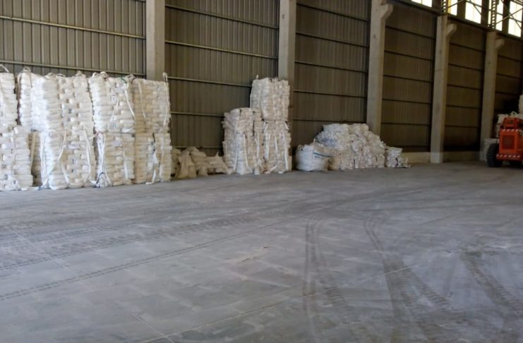 La harina de trigo en bolsa que exportará la Federación de Molineros a Cuba saldrá del puerto de San Pedro.
