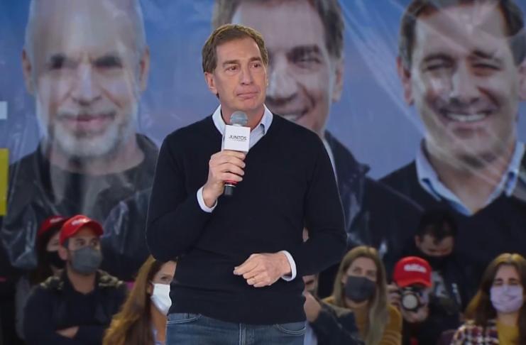 Diego Santilli, primer candidato a diputado nacional por Juntos en Buenos Aires.