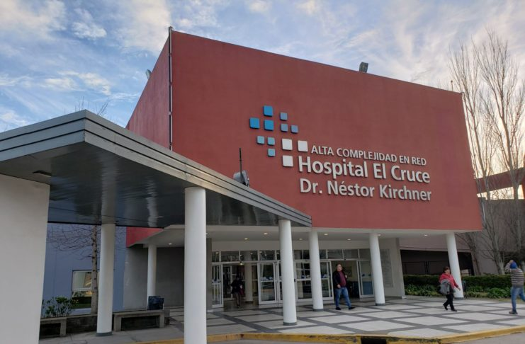 El bebé está en el Hospital El Cruce Néstor Kirchner de Florencio Varela.