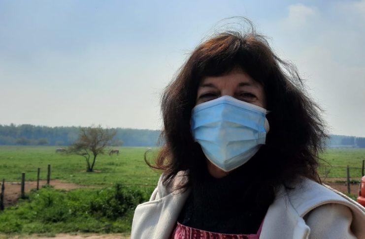 Silvana Morales, coordinadora de vacunación