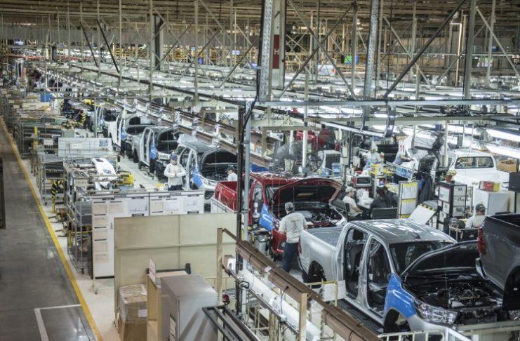 Toyota busca aumenta la productividad en su planta de Zárate.